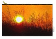 Evening Dunes Impasto Carry-all Pouch