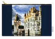 Evening Falls At The Castle Carry-all Pouch