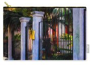 Evening Fence And Gate - Nola Carry-all Pouch