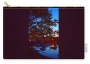 Evening Harbor Lights Carry-all Pouch