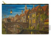 Evening In Brugge Carry-all Pouch