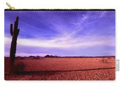 Evening In The Arizona Desert Carry-all Pouch
