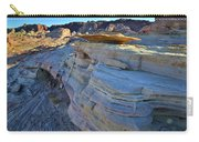 Evening In Valley Of Fire State Park Carry-all Pouch
