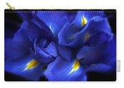 Evening Iris Carry-all Pouch