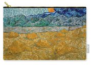 Evening Landscape With Rising Moon Carry-all Pouch