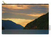 Evening Light At Lake Crescent Carry-all Pouch