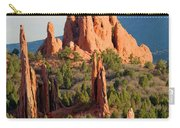 Evening Light On Garden Of The Gods Carry-all Pouch