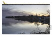 Evening Light On Lake Champlain Carry-all Pouch