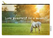 Evening Mist Quote Carry-all Pouch