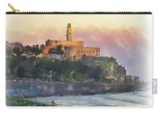 Evening Mood In Jaffa Carry-all Pouch