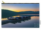 Evening On Lake Mcdonald Carry-all Pouch