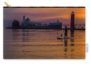 Evening On Lake Michigan At Grand Haven Carry-all Pouch