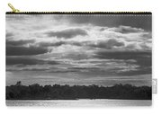 Evening On South River - Bw Carry-all Pouch