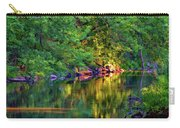 Evening On The Humber River - Paint Carry-all Pouch