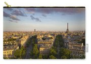 Evening Over Paris Carry-all Pouch