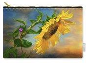 Evening Sunflower Carry-all Pouch