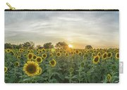 Evening Sunflowers Carry-all Pouch