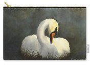 Evening Swan Carry-all Pouch by Phyllis Howard