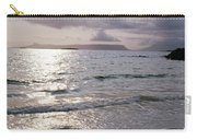 Evening The Isle Of Eigg  Inner Hebrides From The Beach At Arisaig Scotland Carry-all Pouch