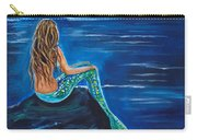 Evening Tide Mermaid Carry-all Pouch