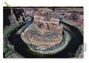 Evening Tones Horseshoe Bend Arizona Landscape  Carry-all Pouch