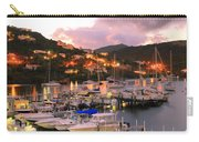 Evening Twilight At Oyster Pond, St. Martin Carry-all Pouch