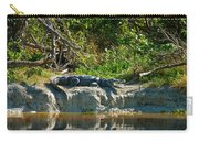 Everglades Crocodile Carry-all Pouch