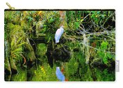 Everglades Egret Carry-all Pouch
