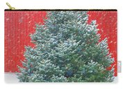 Evergreen In Winter #1 Carry-all Pouch