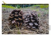 Evergreen Pinecones Carry-all Pouch