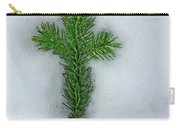 Evergreen Snow Cross Carry-all Pouch