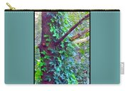 Evergreen Tree With Green Vine Carry-all Pouch