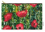 Every Dream Turns Up Poppies Carry-all Pouch