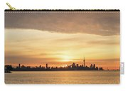 Every Morning Is Different - Toronto First Sunrays In Cyber Yellow  Carry-all Pouch