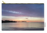 Every Morning Is Different - Toronto Skyline With An Awesome Cloudbank Carry-all Pouch