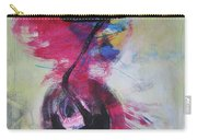 Everything A Mistake-abstract Red Painting Carry-all Pouch