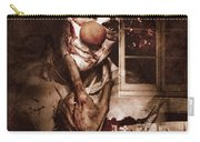 Evil Clown Musing With Scary Expression Carry-all Pouch