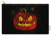 Evil Halloween Pumpkin Carry-all Pouch