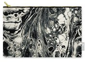 Evil In Black And White Carry-all Pouch
