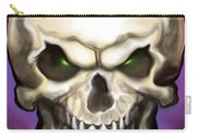 Evil Skull Carry-all Pouch