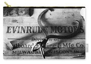 Evinrude Motors Crate Circa 1940s Carry-all Pouch