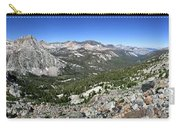 Evolution Lake And Valley Panorama From Darwin Bench - Sierra Carry-all Pouch