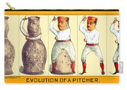 Evolution Of A Pitcher Carry-all Pouch