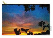 Exagerated Sunset Painting Carry-all Pouch
