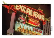 Excalibur Casino Sign Night Carry-all Pouch