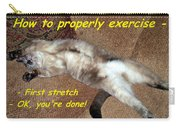 Exercise 101 Carry-all Pouch
