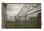 Exercise Yard Through Window In Prison Carry-all Pouch