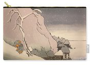 Exiled Buddhist Cleric Nichiren In The Snow Carry-all Pouch