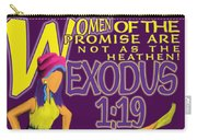 Exodus 1vs19 Israel Lively Carry-all Pouch