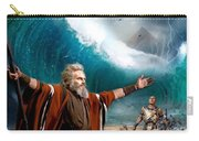 Exodus Moses And Pharaoh  Of Egypt Carry-all Pouch